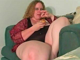 Bbw Eating